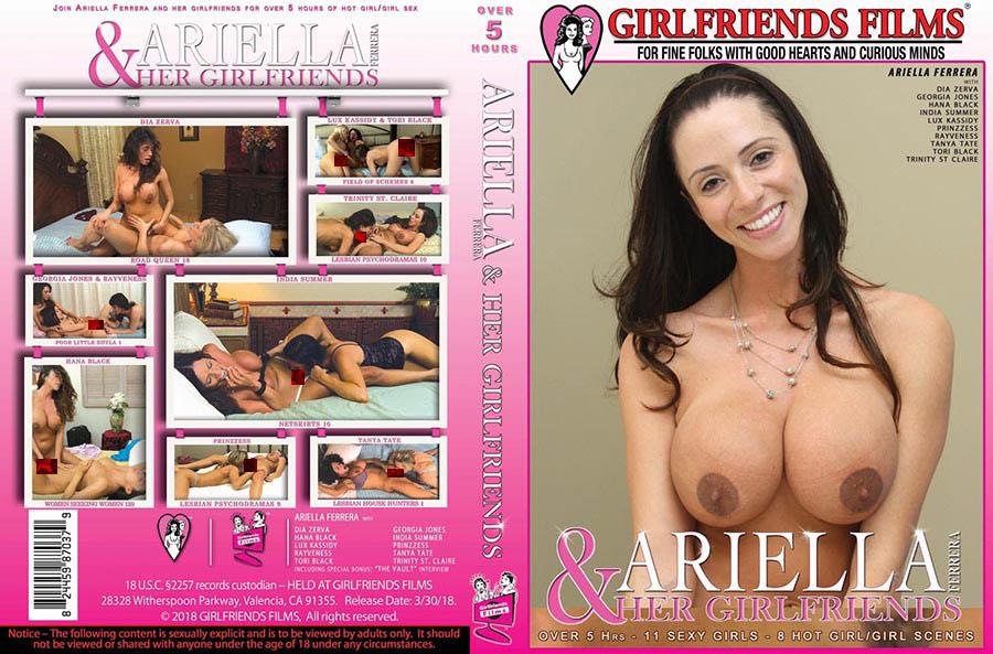 Ariella Ferrera & Her Girlfriends