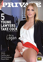 Private - 5 Young Lawyers Take Cock