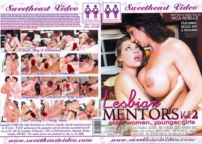 lesbian mentors  dvd