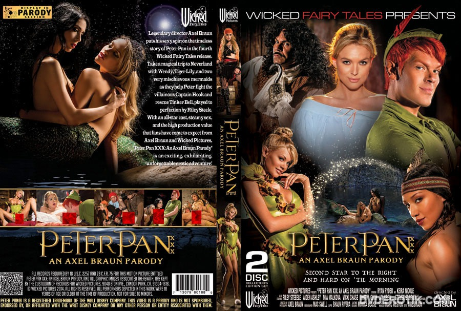 Peter Pan Xxx An Axel Braun Parody - 2 Disc Set Dvd -8213
