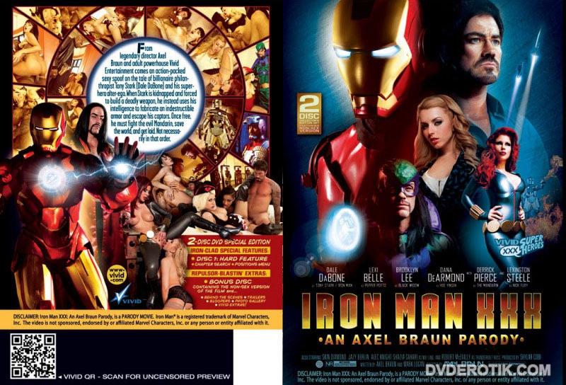 Iron man porn parody